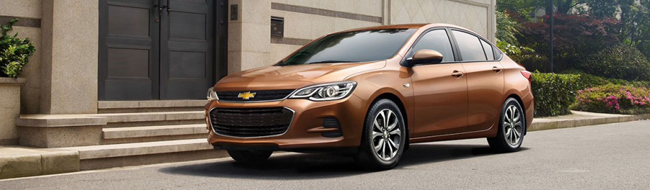 El Cavalier 2018 es la propuesta familiar para el público de Chevrolet que ofrece la personalidad de un auto deportivo con el look clásico de un sedán