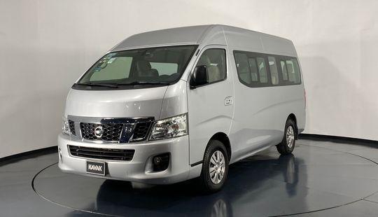Nissan Urvan NV350 Pasajeros Amplia-2017
