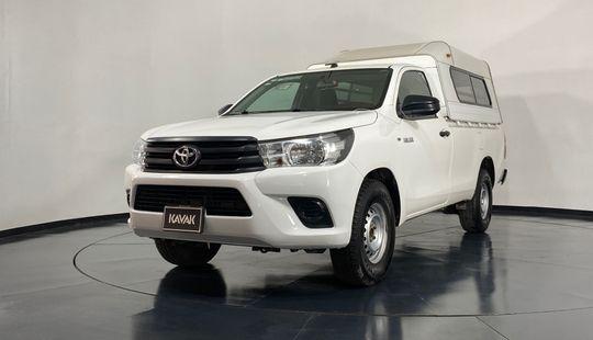 Toyota Hilux Cabina Sencilla-2017