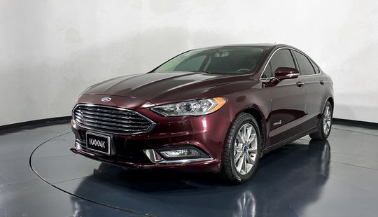 Ford Fusion Se Luxury Híbrido-2017