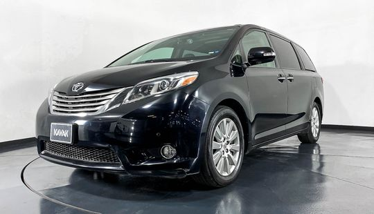 Toyota Sienna Limited-2017