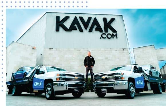 Carlos García Fundador y CEO de Kavak en las instalaciones